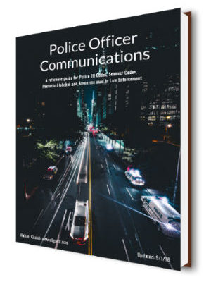 Police officer communications eBook